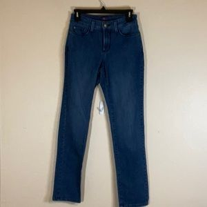 NYDJ Sheri slim fit jeans with lift tuck technology.
